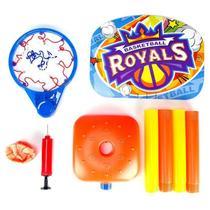 Mini tabela de basquete cesta infantil ajustavel ate 115cm com bola para diversao das criancas - Makeda