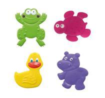 Mini Tapetes para Banho Bath  Fun 4 Pcs Multikids Baby -