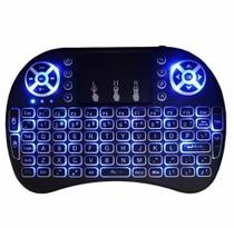 Mini Teclado Com Led Sem Fio Usb Pc Tv Box Ps3 Xbox - Importado