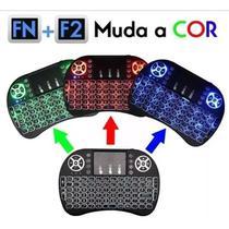 Mini Teclado Controle Sem Fio Para Smart Tv Tv boxes Pc Led - Mini Keyboard