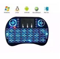 Mini Teclado Led Wireless Keyboard Mouse Smart - Dhj