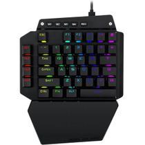 Mini Teclado Mecânico Gamer Redragon Ida, RGB, Switch Outemu Blue - K583 -
