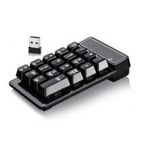 Mini Teclado Numérico Sem Fio Usb Notebook Tablet Mac Wireless - Keypad