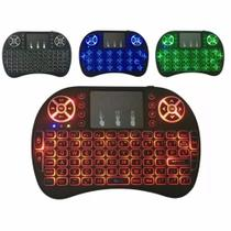Mini Teclado Sem Fio c/ LEDs Smart/TV BOX - S/m