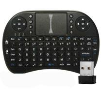 Mini Teclado Sem Fio Com Touchpad Mouse Ideal Para Smart Tv Pc Notebook - Import