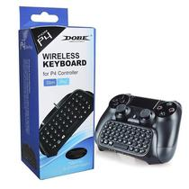 Mini Teclado Sem Fio Para Controle De Ps4 Wireless Keyboard Playstation 4 video game - Dobe