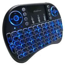 Mini teclado sem fio para smart tv e celular com LED - WEBSTORE