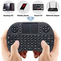 Mini Teclado Touch Com Led Wireless Bluetooth Usb Pc Tv Smart Xbox Playstation - Keyboard