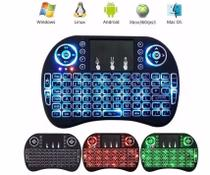 Mini Teclado Touch Wireless Bluetooth Usb Pc Tv Xbox Ps3 Led - Odc