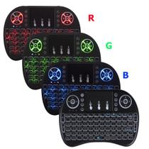 Mini Teclado Touchpad Sem Fio Usb Smart Tv Ps3 Xbox (RGB) - Pyx one