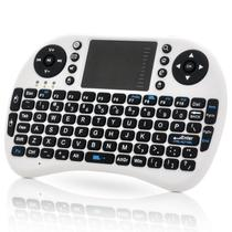 Mini Teclado Touchpad Wireless Bluetooth Usb Pc Tv Xbox Ps3 Branco - Bk imports