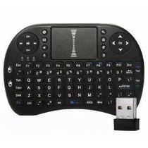 Mini Teclado Touchpad Wireless Bluetooth Usb Pc Tv Xbox Ps3 Preto - Bk imports