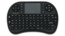 Mini Teclado Touchpad Wireless Bluetooth Usb Pc Tv Xbox Ps3 Preto - Odc