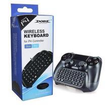 Mini Teclado Wireless Bluetooth para Controle de Playstation 4 Slim/Pro Ps4 - Dobe -