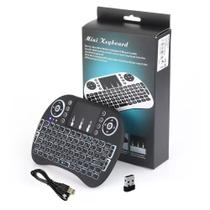 Mini Teclado Wireless TV Smart Box PC Notebook Celular NT