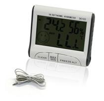 Mini Termômetro E Higrômetro Digital Max / Min - Box7