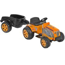 Mini Trator Country Amarelo Elétrico 6v + Caçamba Biemme -