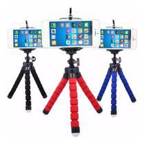 Mini Tripé Flexível Ajustável Móvel Para Celulares 360  Suporte Flexível - Exclusivo
