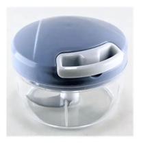 Mini TRITURADOR 2 LAMINAS De Alimentos Manual 8cm - Outros