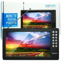 Mini Tv Digital Portatil 7 Mtv-70A - Exbom