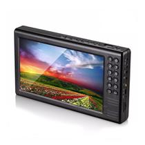 Mini TV Digital Portátil 7 Polegadas Full HD USB SD Rádio FM MTV-70A Exbom -