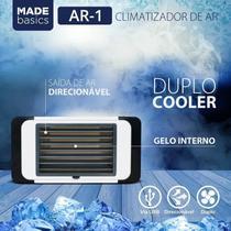 Mini Umidificador Climatizador Ar Condicionado Portátil Usb AR-1 - Made Basics