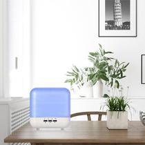 Mini Umidificador De Ar Ambiente Abajur Luminaria Led 1000ml - Exclusivo