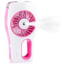 Mini Umidificador Ventilador Climatizador Usb Recarregável - Xz