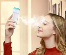 Mini Vaporizador Facial Portatil Nano Limpeza De Pele E Rosto - Rosa - Xtrad