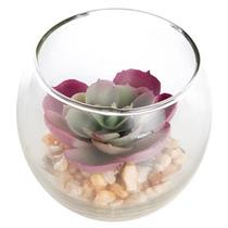 Mini Vasinhos com Suculentia Echeveria Artificial MDecor