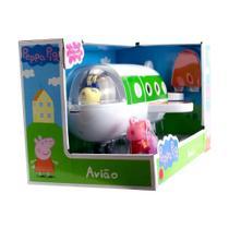 Mini Veículo - Avião da Peppa - Peppa Pig - Sunny -