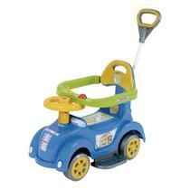 Mini Veículo Com Empurrador Biemme Baby Car Azul -