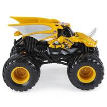 Mini Veículo e Figura - 1:64 - Monster Jam - Bakugan - Dragonoid - Sunny -