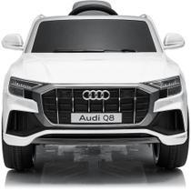 Mini Veículo Elétrico - 12V - Volkswagen Audi Q8 - Branco - Bel Fix -