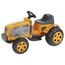 Mini Veículo Elétrico Trator Biemme Country Amarelo E Preto -