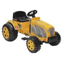 Mini Veículo Trator Biemme Fazendeiro A Pedal Amarelo -