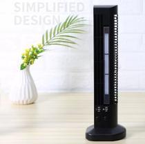 Mini Ventilador Abajur Torre Vertical Usb Mesa Computador - PRETO - Usb Tower