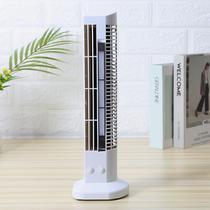 Mini Ventilador Abajur Vertical Torre usb mesa computador luminaria Branco - Ab Midia