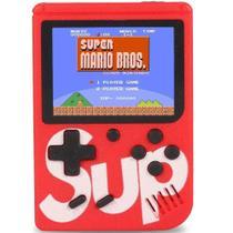Mini Vídeo Game Boy Portátil G4 400 Games Sup Clássico Vermelho - Diversos
