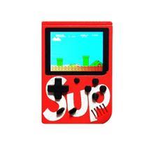 Mini Vídeo Game Boy Portátil G4 400 Games Sup Clássico Vermelho - G4 400game
