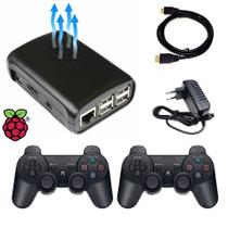 Mini Video Game Retro 64gb 2 Controles PS3 Nostalgia - Retrogamespi