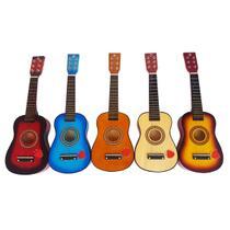 Mini Violão De Madeira Musical Infantil - String Guitar