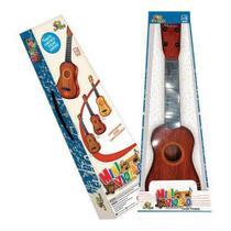 Mini Violão Infantil Com Corda E Palheta - Art brink