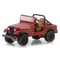 Miniatura - 1:64 - Jeep CJ-7 - The A Team - Hollywood - Greenlight -