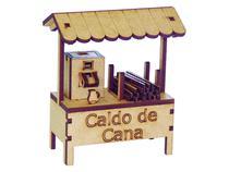 Miniatura Barraca Caldo de Cana A072 - Woodplan