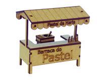 Miniatura Barraca de Pastel A071 - Woodplan