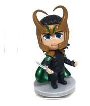 Miniatura Boneco Loki Marvel Playskool Pocket Thor 9 Cm H9 - Crazy Figurines