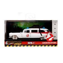 Miniatura Cadillac Ecto 1 Caça Fantasmas Ghostbusters 1/24 - Dtc