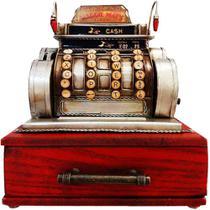 Miniatura Caixa Registradora Com Gaveta - Versare Anos Dourados