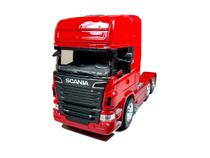 Miniatura caminhão scania r730 trucado - escala 1:32 - Welly
